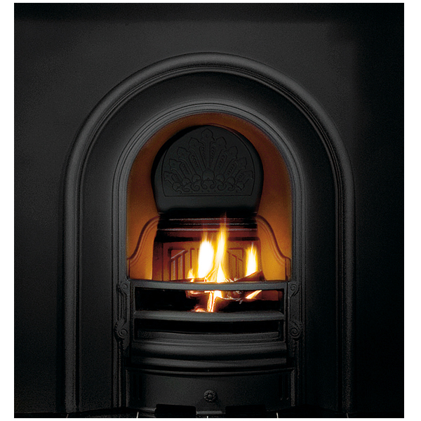 Gallery coronet cast iron fireplace insert for Fireplace insert options